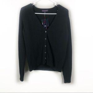 NWT Black Tommy Hilfiger Wool Blend Sweater Medium